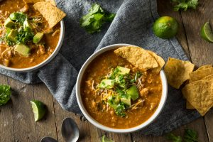 Spicy Homemade Tortilla Soup